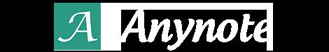 Anynote Logo